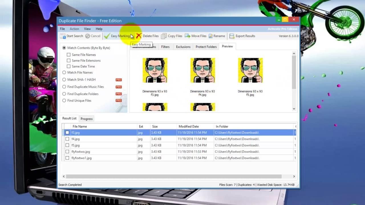 duplicate file finder activation key