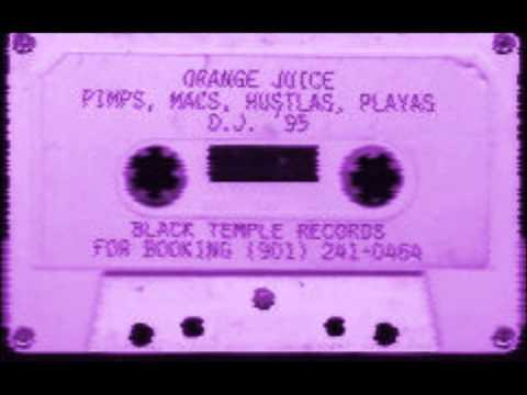 ORANGE JUICE CLICK - ALL MY NIGGAZ DOWN (CHOPPED AND SCREWED)
