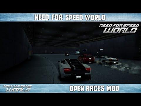 NFS World - Open Races Mod