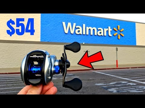 Most EXPENSIVE Fishing Reel At Wal-Mart (Worth The $$$?)