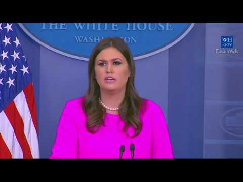 Sarah 'Huckabee' Sanders WRECKED on Tillerson Trump's IQ, bob corker,nfl Taxes players 10/10/2017