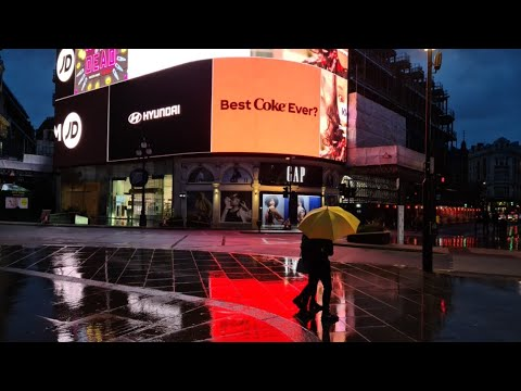 🔴 LONDON St Paul's Cathedral and rain walk in SOHO   London live camera