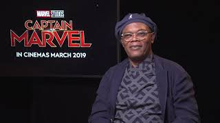 [Trailer] Interview with Samuel L. Jackson - Captain Marvel Movie's Cast