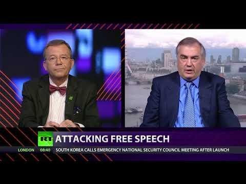 CrossTalk on RT and Sputnik: Attacking Free Speech