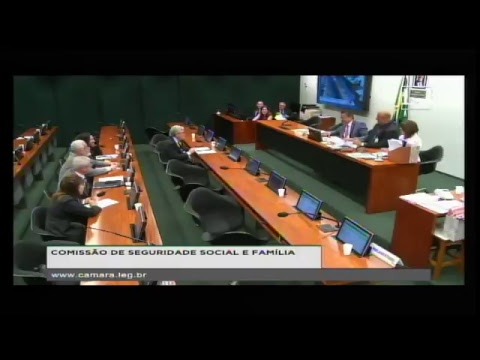 SEGURIDADE SOCIAL E FAMÍLIA - Reunião Deliberativa - 16/08/2017 - 10:10