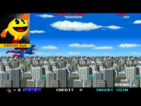 Superman Round 1 - HD 1988 Taito Arcade Games