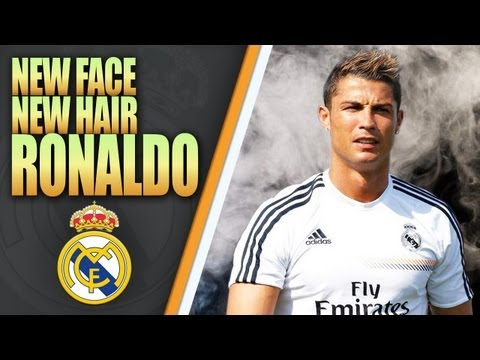 New Face & Hair Cristiano Ronaldo HD • REAL MADRID C.F • ...