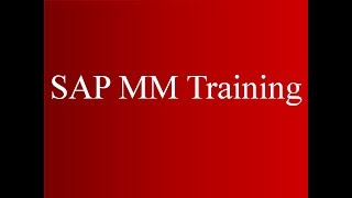 (Video 17) SAP MM Eğitimi - Faturalama Planı   SAP MM Malzeme Yönetimi