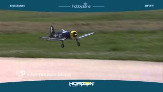 f4u corsair s with safe technology by hobbyzone
