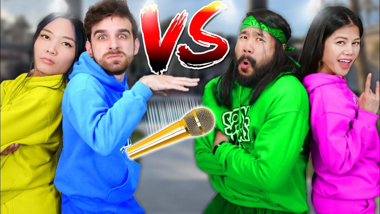 Download EXTREME RAP BATTLE ROYALE vs SPY NINJAS - Vy Qwaint & Melvin PZ9 vs Daniel & Regina w/ MC CWC