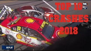 Top 10 Supercars Crashes of 2018