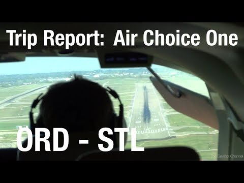 TRIP REPORT - Air Choice One (Cessna 208), Chicago to St Louis