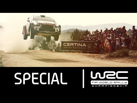 WRC - Rally Italia Sardegna 2015: Action Clip