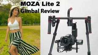 Moza Lite 2 Camera Gimbal   Review