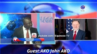THE 6PM NEWS(Guest: Ako John Ako) WEDNESDAY MARCH 6th 2019 - EQUINOXE TV