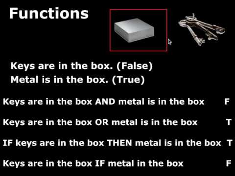 Sections 2.1 & 2.2 Truth Functions, Conjunction & Negation