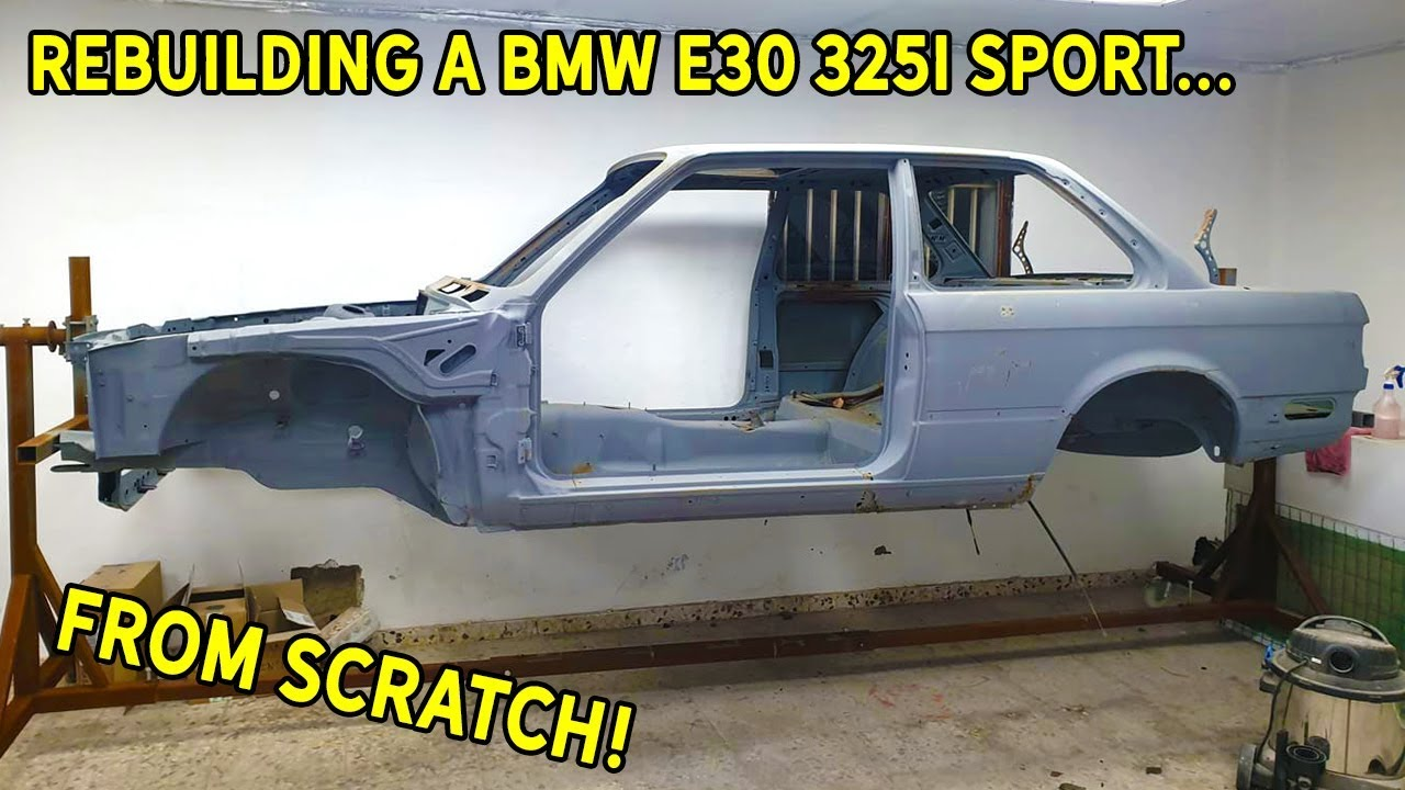 LITERALLY Rebuilding A Rusty BMW E30 325i Sport | Part 1 - Making The Chassis Great Again
