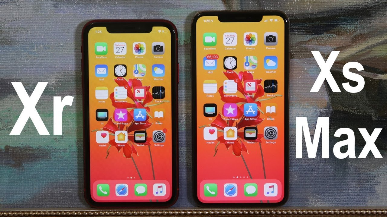half off feab2 2802e iPhone Xr vs iPhone Xs Max - Full Comparison