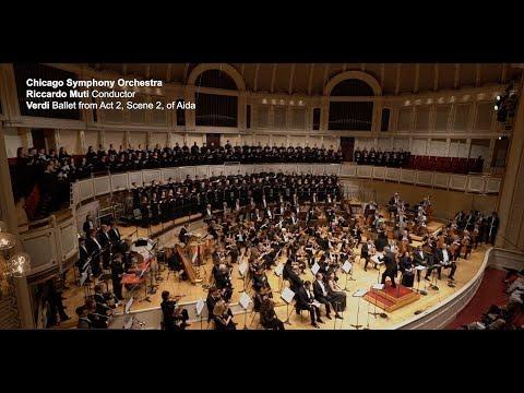 "CSO, Riccardo Muti In Ballet From Act 2, Scene 2 Of Verdi's ""Aida"""