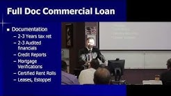 Commercial Lending & Real Estate Training Session #6 7/10/2014