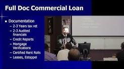 Commercial Lending & Real Estate Training Session #6 7/10/2014