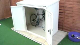 6x3ft Bike Shed - The Addition Bike Storage Unit From Asgard