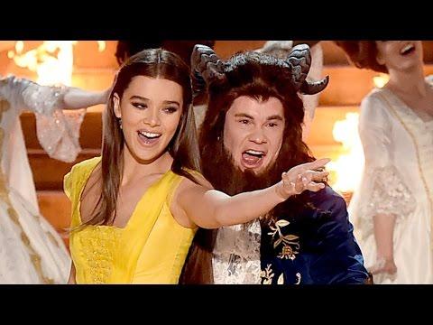 Adam Devine Parodies 'Beauty & The Beast' w/ Hailee Steinfeld 2017 MTV Movie & TV Awards