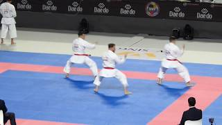 Karate World Championship MADRID 2018 Final Kata Team Male SPAIN (A...