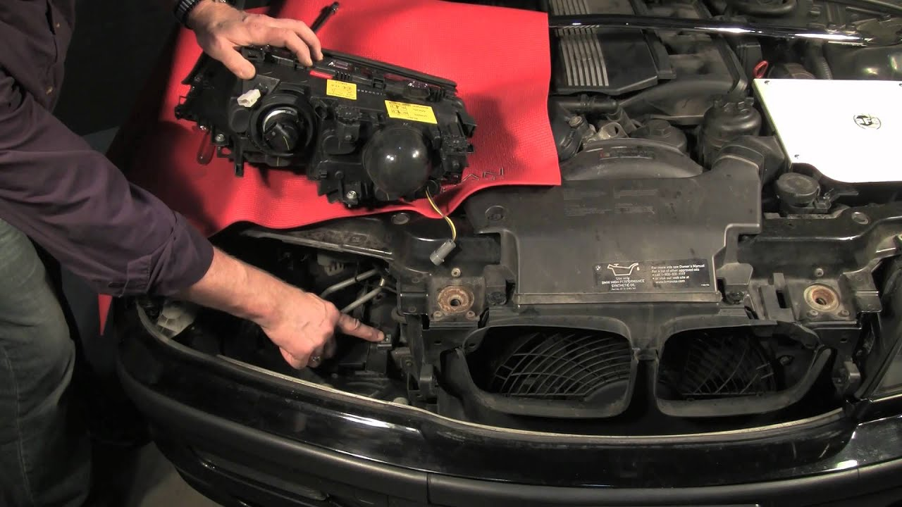 Bmw Headlight Replacement And Angel Eyes Upgrade Part 1 Of 2 Youtube 2007 X3 Engine Diagram