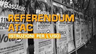 Referendum sull'Atac dell'11 novembre: dove e come si vota