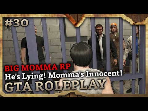 He's Lying! Momma's Innocent! [BIG MOMMA RP] (GTA Role Play Highlights #30)