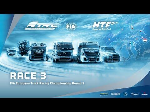 LIVE - Race 3 European Truck Racing Championship Round 5 Hungaroring 2017