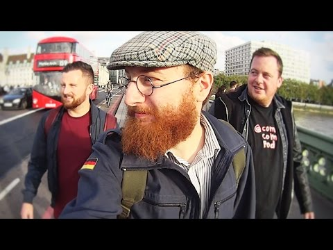 LONDON TRIP with IKS Exploration, AMJ Comic & Jamie Dench (Vlog 8)