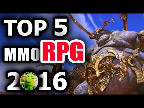 Top 5 BEST MMORPG Android Games 2016