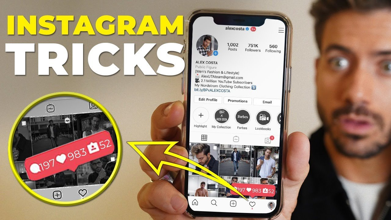 Instagram Tips and Tricks w/ REAL INSTAGRAM EMPLOYEE | Alex Costa