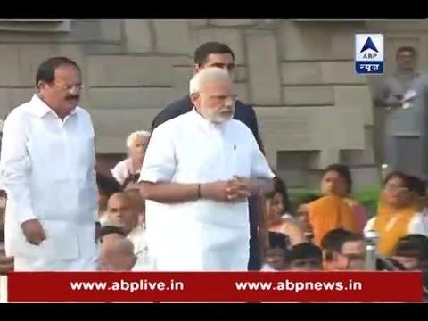 Prime Minister Narendra Modi pays tribute to Mahatma Gandhi on his 147th birth anniversary