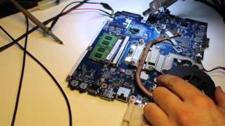 066 Диагностика и ремонт ноутбука Acer Aspire 5552G материнская плата LA5891P Rev: 1.0