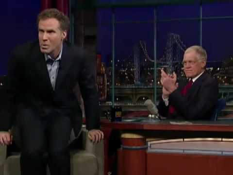 Letterman Will Ferrell Sings West Side Story