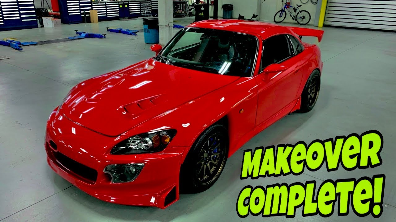 Stunning Paint Job brings Honda S2000 back to LIFE!