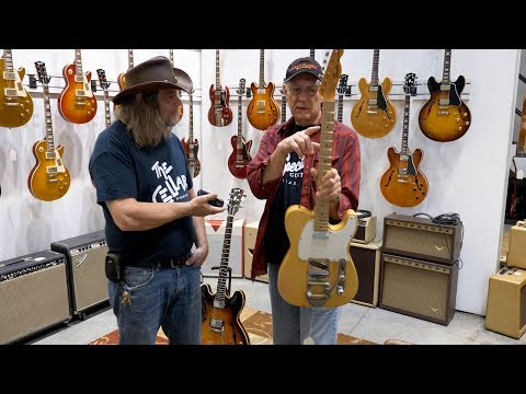 Dave Hinson Gives A Tour Of Killer Vintage Specialty Guitars In Dallas TX