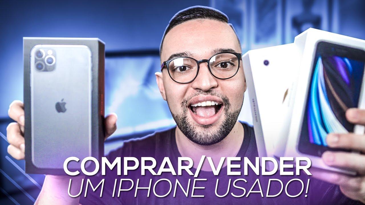 Quer COMPRAR/VENDER um iPHONE USADO? 5 DICAS!