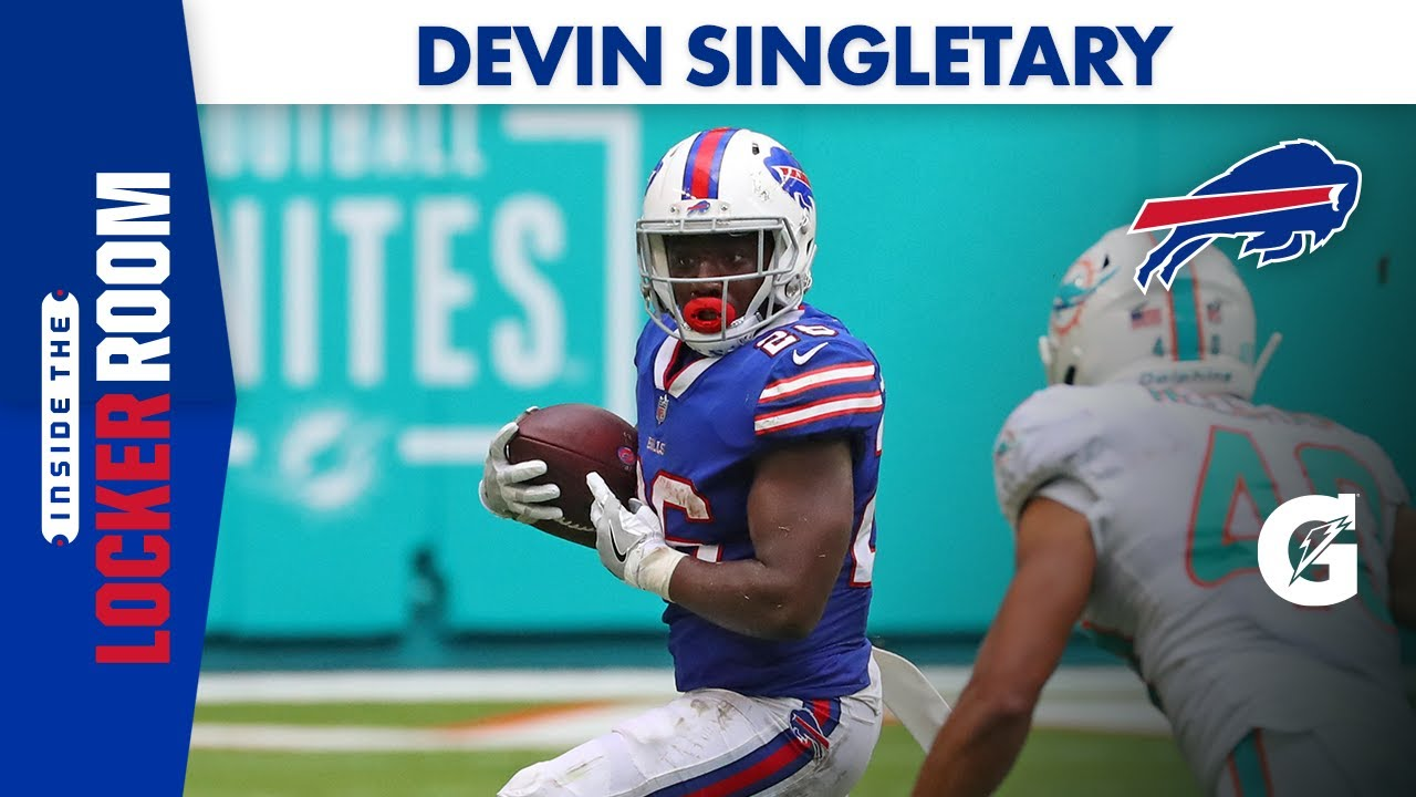Devin Singletary Making Every Opportunity Count | Buffalo Bills