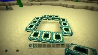 how to build a end portal on minecraft xbox one edition