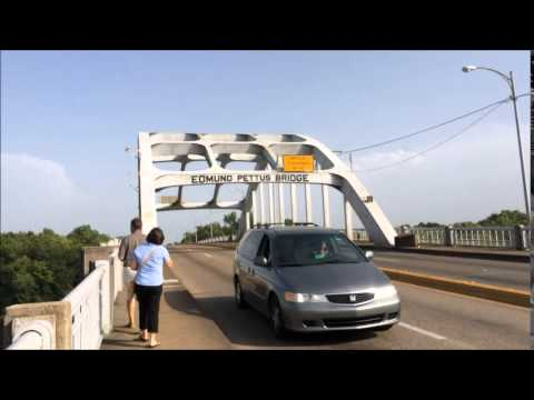 Selma Bridge - Edmund Pettus Bridge in Selma, Alabama