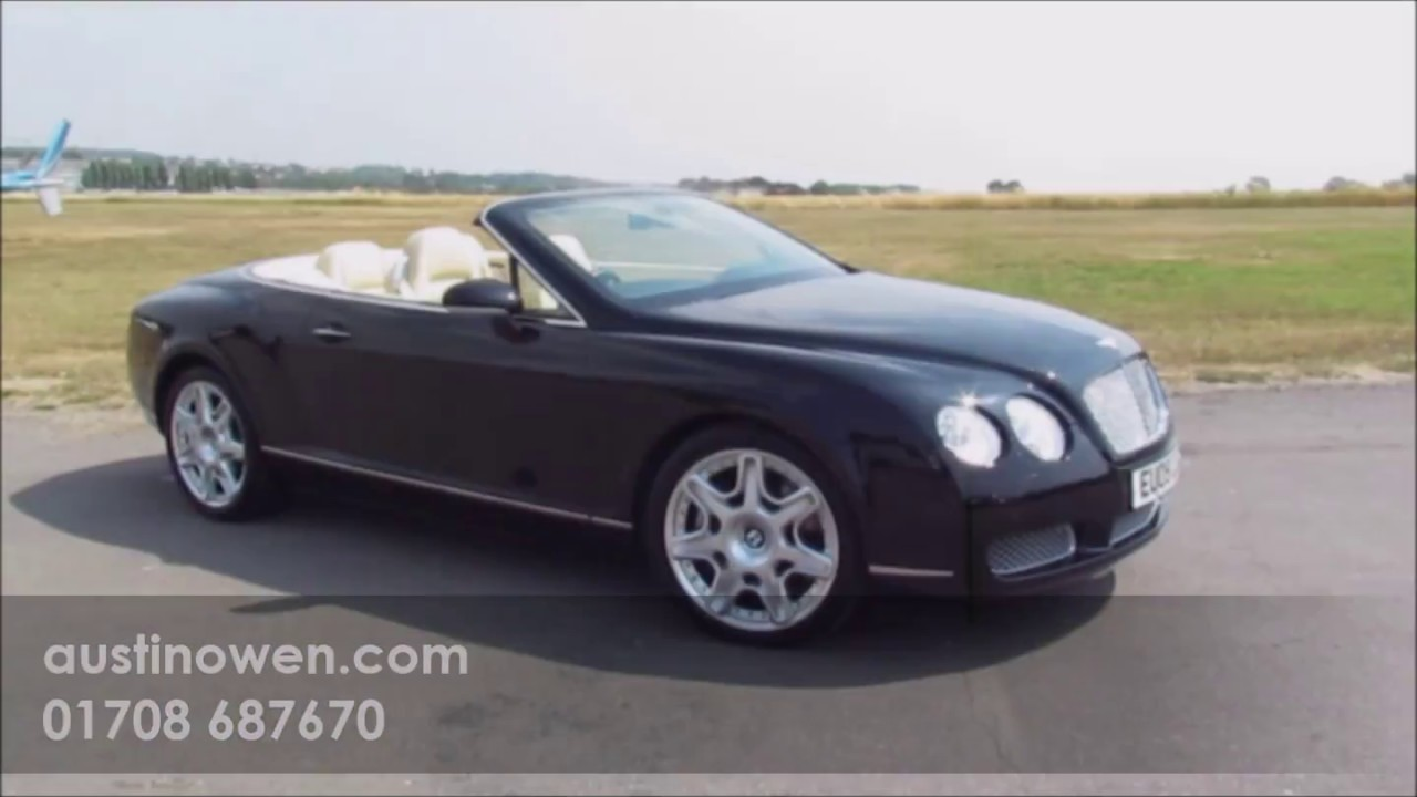 Bentley Continental Gtc 2009 Quick Look Austin Owen Specialist Cars