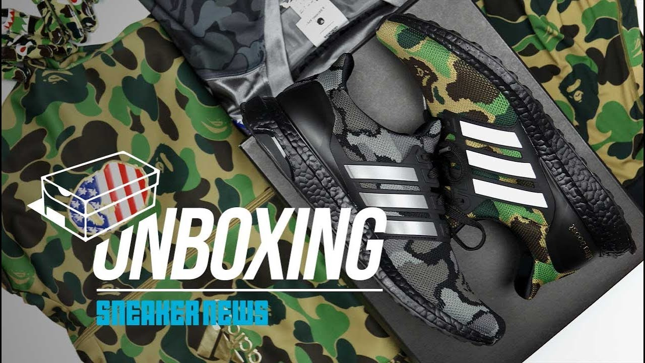53f75cc08c70 Why the ridiculous BAPE adidas Superbowl Pack is a must - YouTube