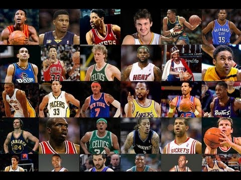 The Top 10 NBA Players of all time - YouTube