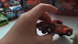 Disney Pixar cars 3 Natalie Certian and Smokey review