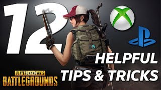 12 Helpful TIPS and TRICKS That Will Make You A Better PUBG Player - Xbox One/PS4