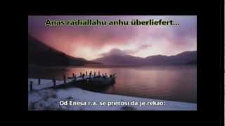 Schöner Hadith über Allahs Vergebung / Hadis Kudsi o Allahovim oprostom